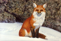 The Wait Red Fox von Frank Wilson