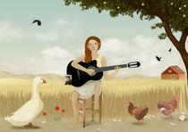 Hello, I'm Johnny Cash #4 von Caterina Baldi