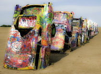 Cadillac Ranch 16 von Luc Novovitch