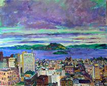 Morning Clouds Over San Francisco by Zolita Sverdlove