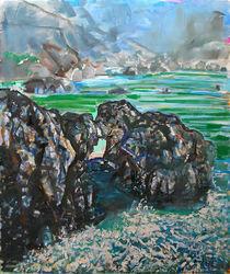 Point Lobos Window Rock by Zolita Sverdlove