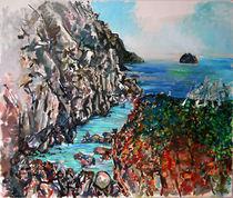 Point Lobos Whalers Cove by Zolita Sverdlove
