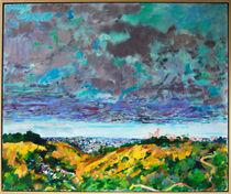 New Mexico Clouds Over L. A. by Zolita Sverdlove