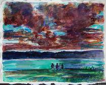Sitting by the lake by Zolita Sverdlove