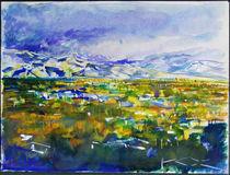The San Gabriel Valley by Zolita Sverdlove