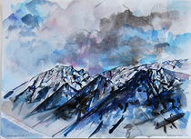 Canadian Rockies by Zolita Sverdlove