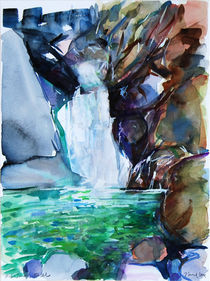 Waterfall by Zolita Sverdlove