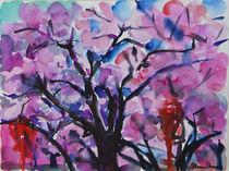 Flowering Trees by Zolita Sverdlove