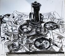 Still Life with Coffee Pot by Zolita Sverdlove