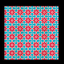 patterns red blue by tahar azzaoui