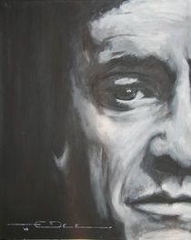Johnny Cash  by Eric Dee