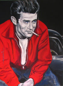James Dean Put His Picture in a Picture Show by Eric Dee
