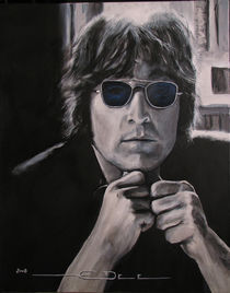 John Lennon - Shades of Blue by Eric Dee