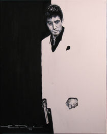 Tony Montana - Scarface by Eric Dee