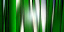 Tief unten im Gras. Abstrakte Froschperspektive. by Bernd Vagt