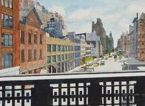 From Highline looking east von Robert Bowden