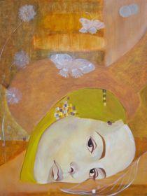 Trio-30x24 oil on canavss von Antoaneta Hillman