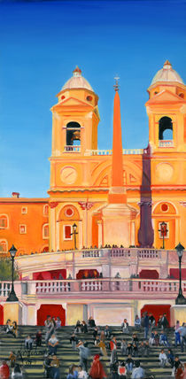 The Spanish Steps 1 by Leah Wiedemer