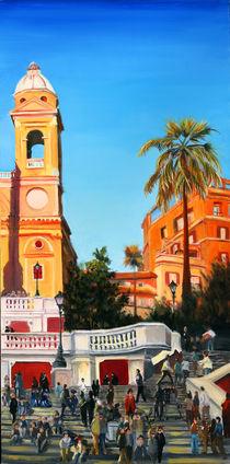 Spanish Steps 2 von Leah Wiedemer