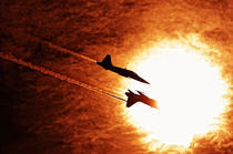 Flying into the sun by holka