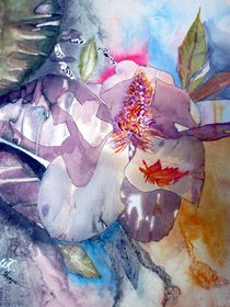 Abstract Magnolia von Warren Thompson