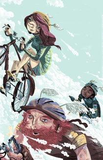 Bikes Not Bombs by Logan Faerber