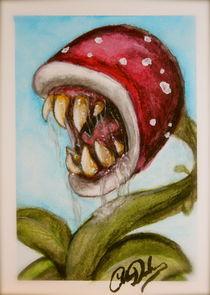Man-eating plant von Colleen Duschen