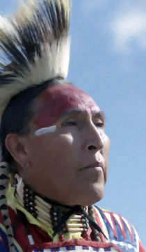 Native American Portrait 07 by zacharie