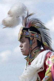 Native American Portrait 06 by zacharie