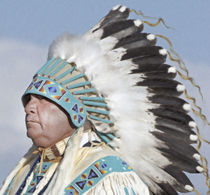 Native American Portrait 04 von zacharie