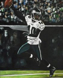 Philadelphia Eagles DeSean Jackson by Kim Selig