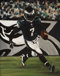 Philadelphia Eagles Michael Vick by Kim Selig