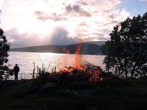 Mittsommer in Norwegen by Eugen Bill