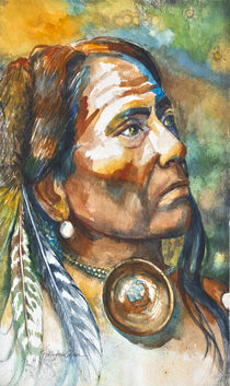 Chief Last Horse by Patricia Allingham Carlson