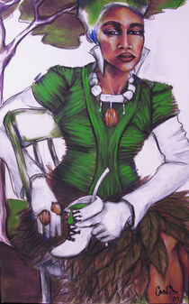 GREEN SHOE by charlotte oedekoven