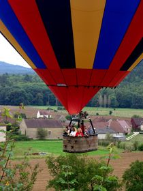 Ballooning in France by Lainie Wrightson