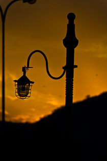 The Solitary Lampost von Samar Jha