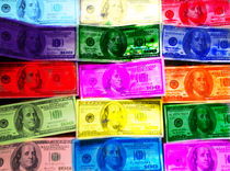 colored money von ushkaphotography