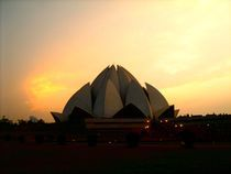 Lotus Temple by Usha Shantharam