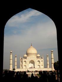 Taj Mahal by Usha Shantharam
