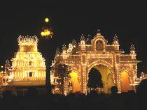 Mysore Palace Gate by Usha Shantharam