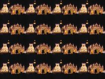 Mysore Palace by night by Usha Shantharam