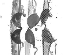 Lingerie à Pois III von Sara Ligari
