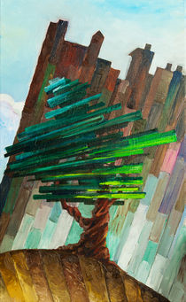 Magic pine tree von Oleksiy Tsuper