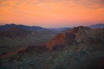 Sunset in Nevada by Johan Elzenga