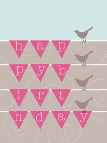 birthday birds von thomasdesign