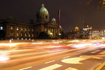 Parliament Belgrade by Miroslava Andric