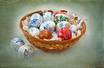 A Basket of Easter Eggs by Louise Heusinkveld