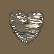 Chrome Heart - Beige Brown by Philip Roberts