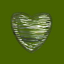 Chrome Heart - Lime Green by Philip Roberts